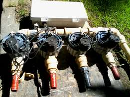 Irrigation control and valves