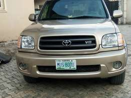 Toyota sequoia 2002 model for sale