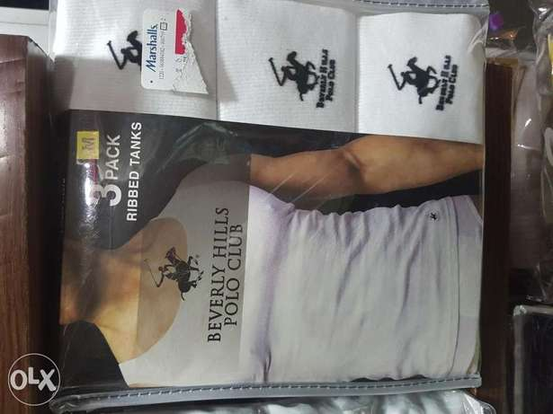 Berverly hills polo club tanks.3 in a pack.Medium. Moudi - image 1