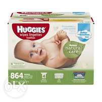 Huggies Wipes 864 Count