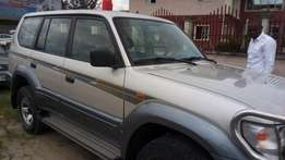 Pristine clean Nigerian Used Toyota Prado, 1999 model