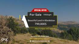Prime Location Land in the Village of Kfardebian with Amazing View