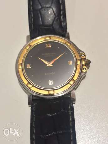 ORIGINAL REMOND WEIL WATCH , Steel / gold, quartz, sapphire crystal,