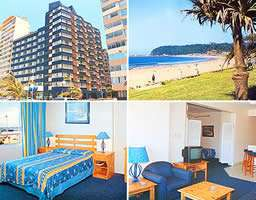 Silver Sands 1 Hotel (Durban) - 29 April to 6 May ONLY (Sat-Sat) 6 Slp