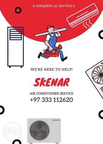 repairing all type air condition serves