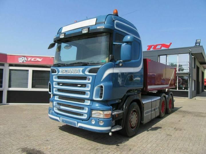 Scania R 480 6X4 TREKKER + KIPPER - 2008