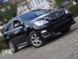 Toyota Harrier black colour 2010 model leather interior Very clean
