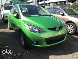 Mazda Demio Green colour 2011 model excellent condition