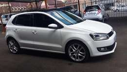 2012 White VW Polo 6 1,4 comfort Line for sale