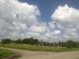 1/8 Acre for Lease Touching S/Bypass Ruai, Best for Car Bazaar and Fun