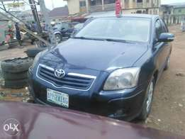 Neatly Used 2007 Model Toyota Avensis