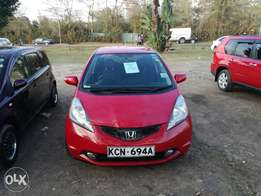 Honda Fit, 2010, 1330cc, Ksh 720k,Red, fog