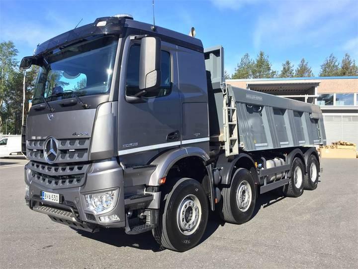 Mercedes-Benz Arocs 3253 8x4/4 Meiller Kivilava - 2018