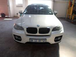 WHITE BMW X6 4.0D SPORT for sale