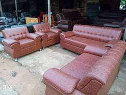 Complete Set of Leather Sofa for sale
