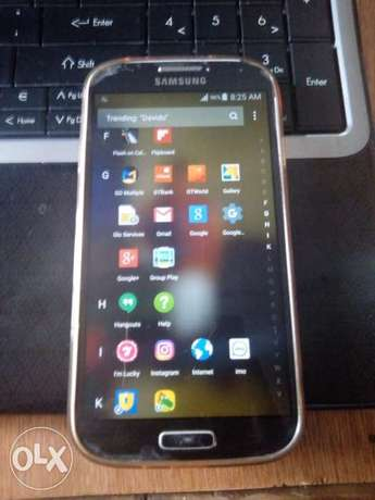 Samsung s4 (GT-19500)for sale or Swap Ifo - image 1