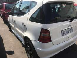 02 Mercedes a160manual r32900 Dutban