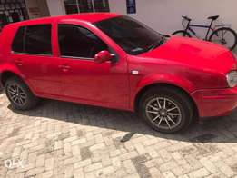 Very Clean Volkswagen Golf on a quick sale.