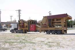• Mobile Secondary cone Crushers