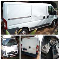 Is a manual boxer van which is shipped new to ghana