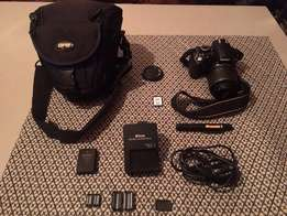 Nikon D3100 (DX 18-55mm), 14.2 MPL Camera for sale (very good price)