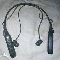 ORIGINAL iHome Bluetooth earpiece with neckband