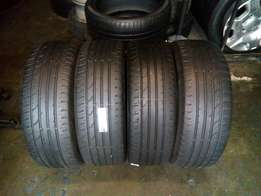 215/55/18 Continental tyres for sell