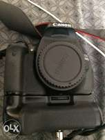 Canon 600D with battery grip
