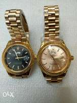 Original Rolex Oyster. Gold Strap. Wholesale Ksh 4499. Free Delivery