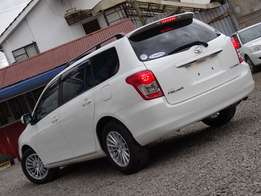 Toyota fielder white colour 2010 model Very clean.