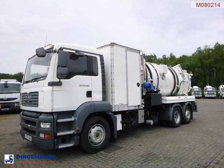 MAN TGA 26.320 6x2 RHD vacuum tank 11.5 m3 - 2007