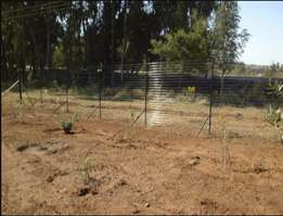 Electric free stand Fencing 18 strands