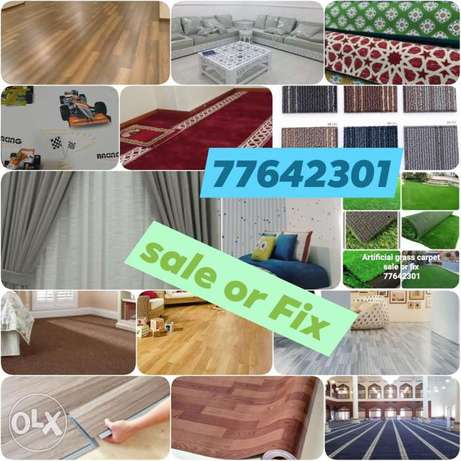 Grass carpet,, Wood flooring parkia,, vinyl flooring pvc,, sofa,,