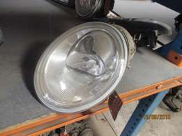 VW Beetle left and right head lights