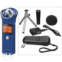 Used Zoom H1 Audio Recorder and Accessory Kit (Blue)