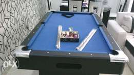 New snooker pool table