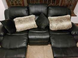 Reclining three seater couch