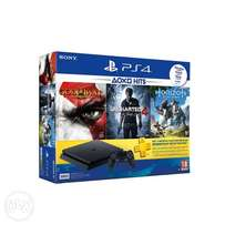 playstation 4 ps4 500gb and 3 games free all new