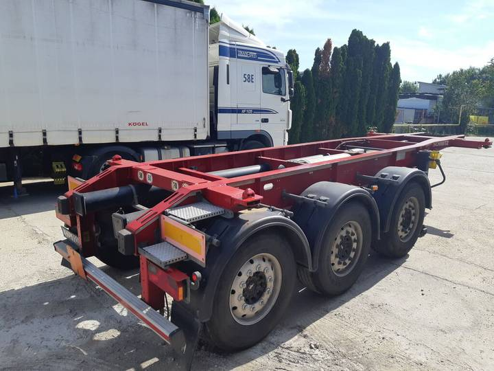 Schmitz Cargobull SGF Lift Axl TOP ADR - 2014