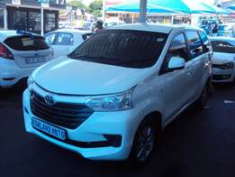2016 Toyota Avanza 1.5 SX for sell R150000