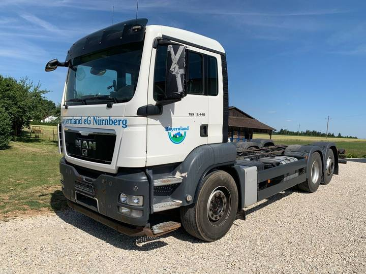 MAN TGS 26.440 6x2 - EEV Norm - Fahrgestell - 2011