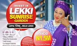 Buy residential dry land with govt excision in ibeju lekki-1.5m askin