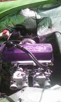 Ford 2L sapphire pinto engine with hi comp pistons 272 hi lift can.