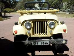 "1956 Willys Jeep CJ6 right hand drive ""original body and motor"""