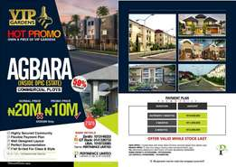 Own your land at VIP Gardens, Agbara