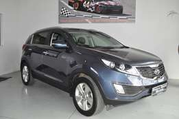 Kia Sportage 2.0 A/T in mint condition and good mileage