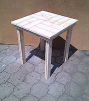 Patio table Cottage series 700 square Raw