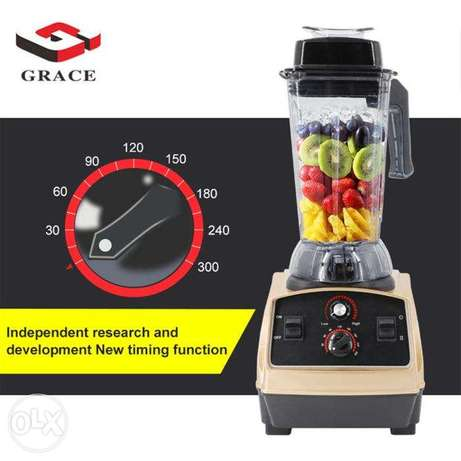 GRACE 2200W High Speed Ice Breaking Blender Electric Mixer Juicer