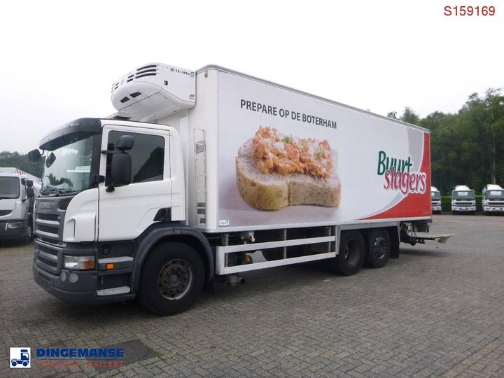 Scania P270 DB 6x2 Thermoking TS300e frigo - 2006