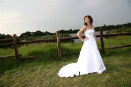 A-line wedding gown for sale